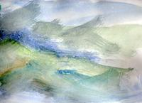 atlantic, 2005, aquarel, 24 x 31 cm